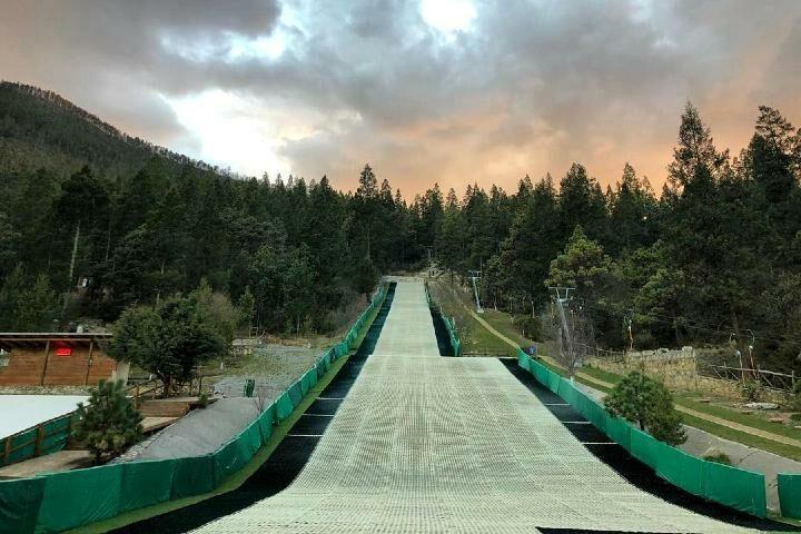 Tecnología en Pistas de esquiar. Foto: B. de Monterreal