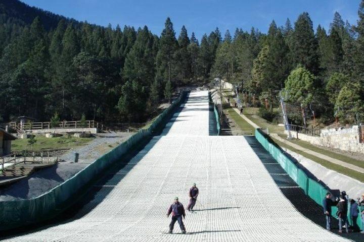 Pistas para esquiar en Monterreal. Foto: El Souvenir