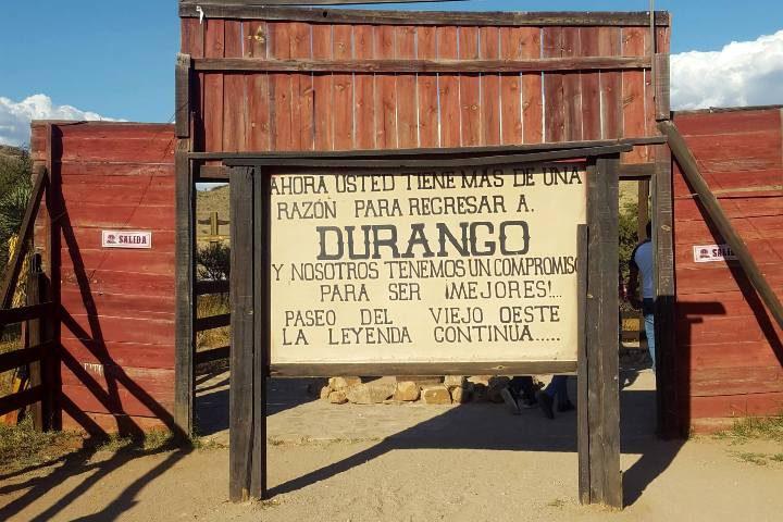 Sets de Durango. Foto: El Souvenir /Mirosh Jmz.