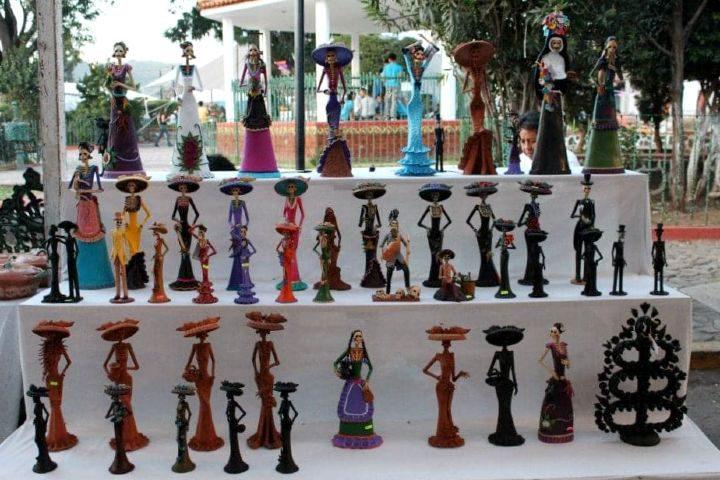 Feria de Catrinas en Capula Michoacán, Foto: Turismo Capula