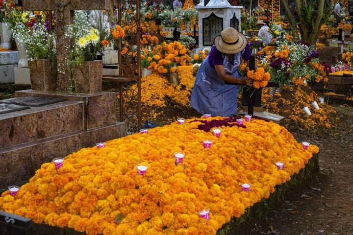 Día de Muertos en Michoacán Foto JT ASTK