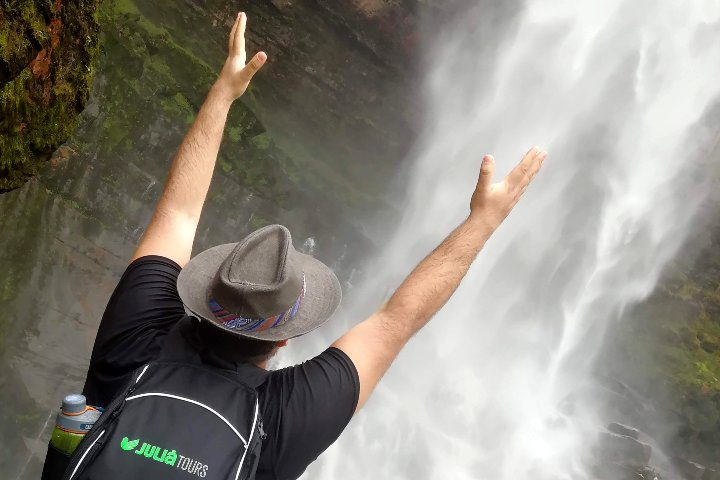 Catarata Gocta en Perú. Foto: El Souvenir