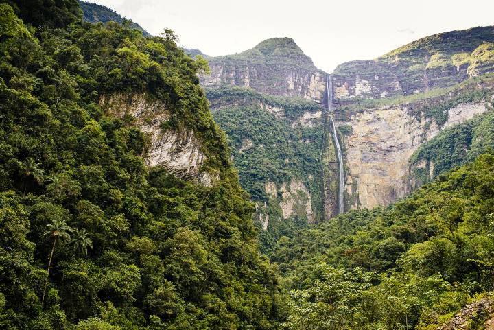 Catarata Gocta, Perú. Foto JT ASTK
